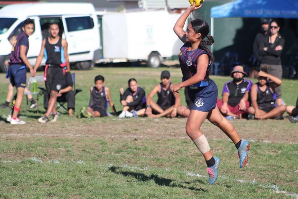 2018 NZ Secondary School Ki o Rahi Nationals - Rotorua Girls High School Shooter
