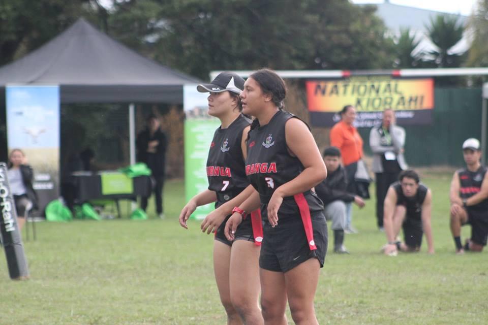 2018 NZ Secondary School Ki o Rahi Nationals - Gisborne Girls Students