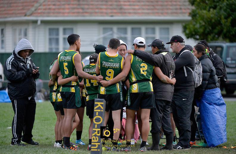 2014 NZ Secondary School Ki o Rahi Nationals - Tokoroa High School