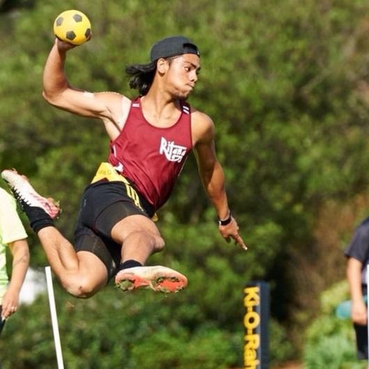 2014 NZ Secondary School Ki o Rahi Nationals - Tamati Jump Shot