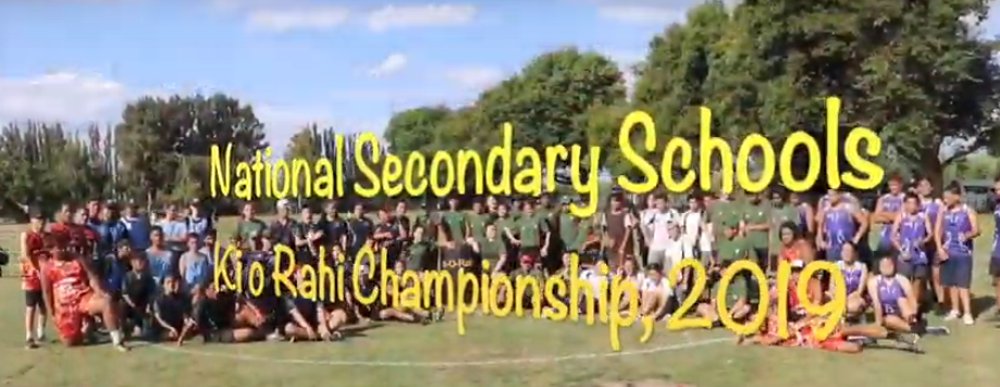 2019 NZ Secondary School Ki o Rahi Nationals
