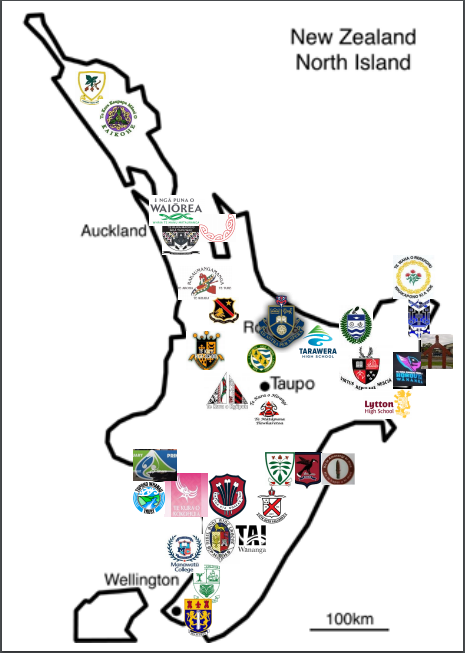 2019 NZ Secondary School Ki o Rahi Nationals - North Island Teams