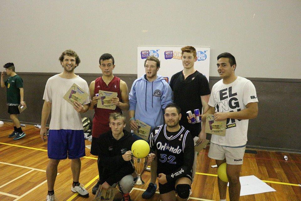 Iasiah playing Dodgeball - Wellington Thunder Open Men's