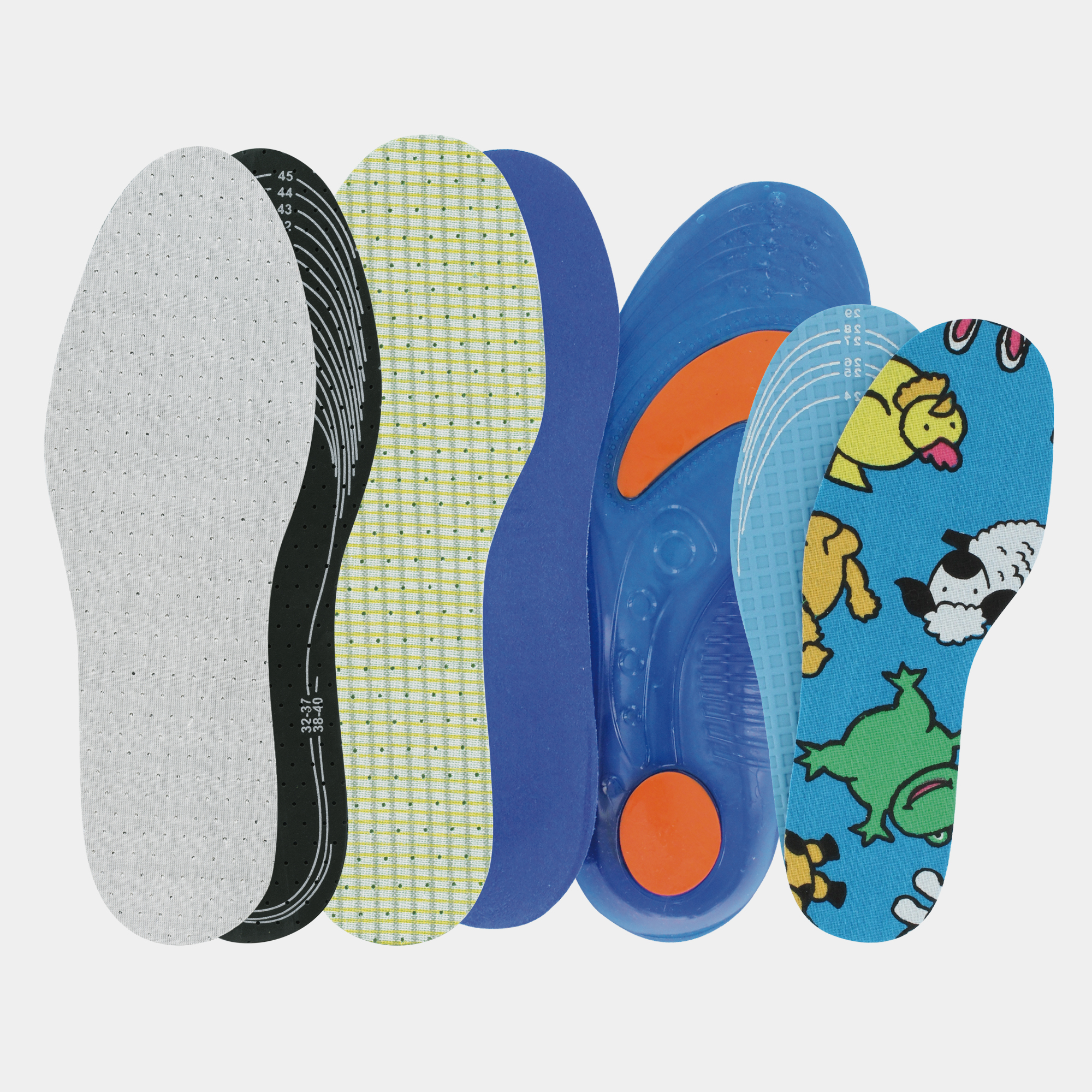 VARIOUS INSOLES