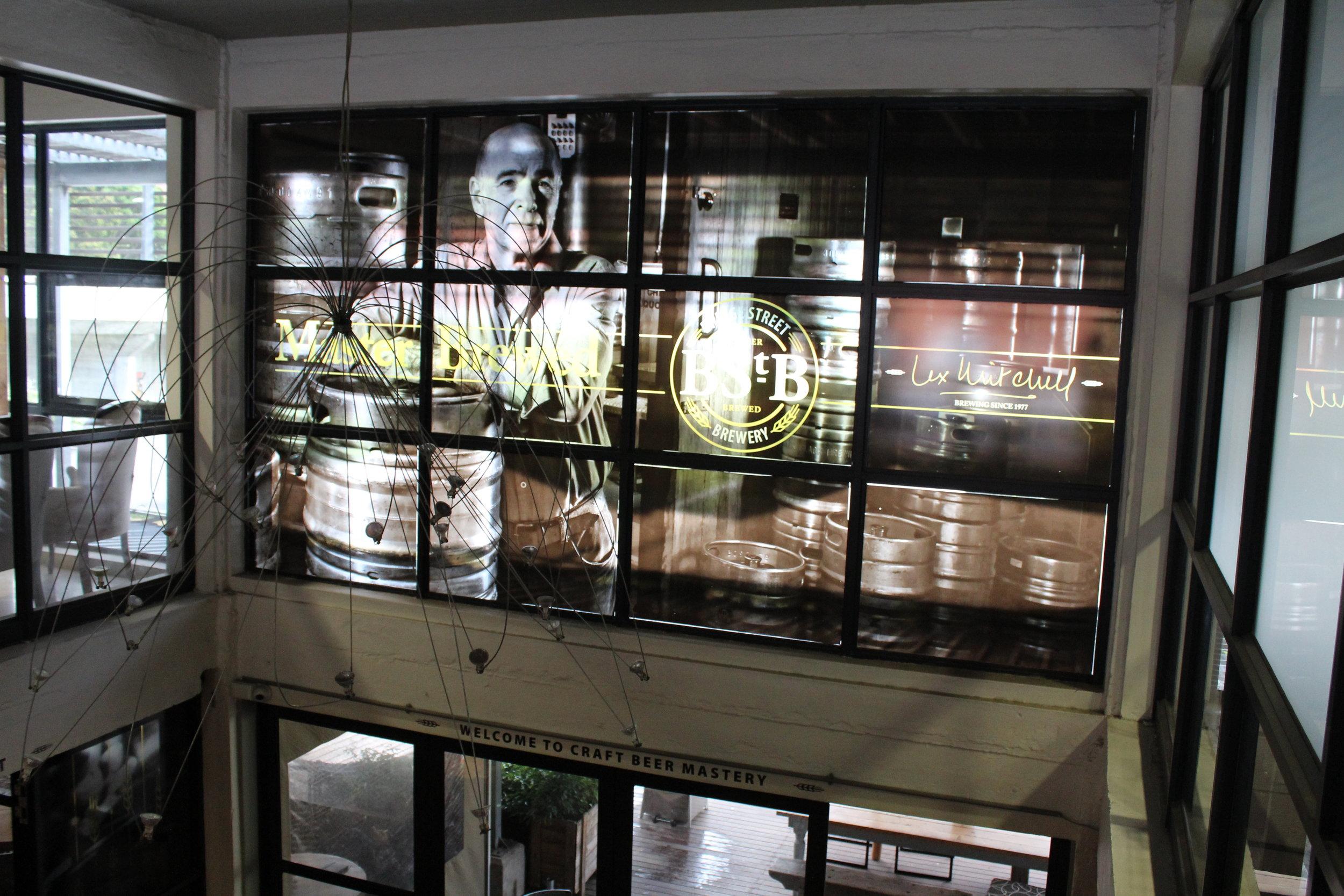 Lex Mitchell is the resident master brewer at Bridge Street Brewery.