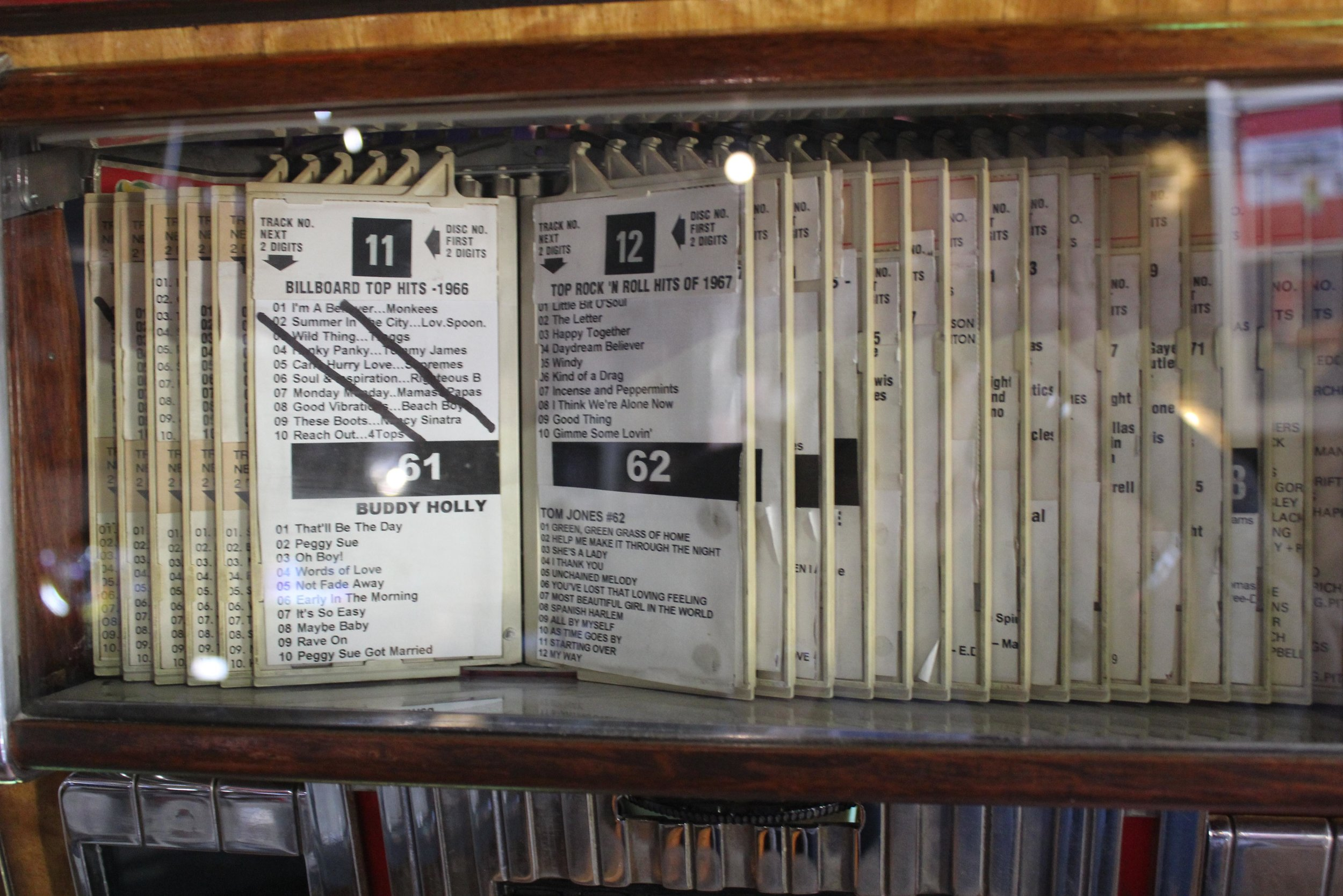 The jukebox records.JPG