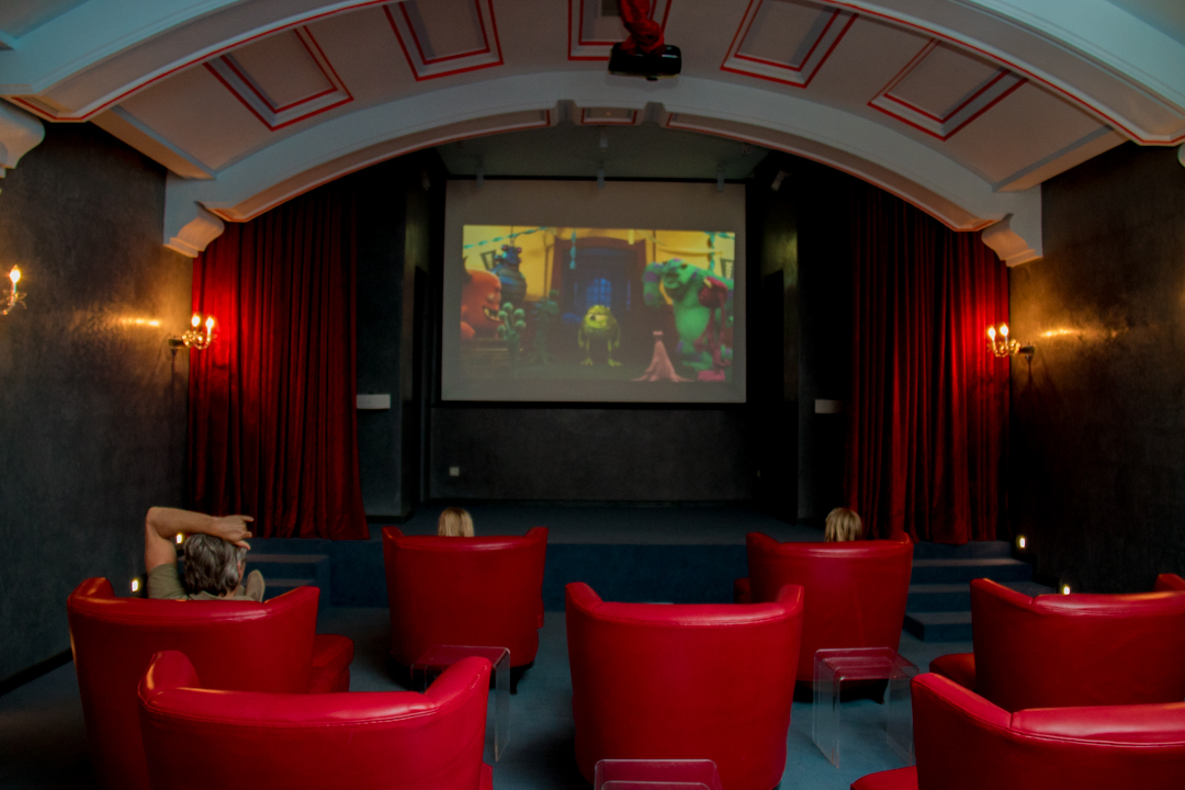 In-house cinema Hotel Tigmiza