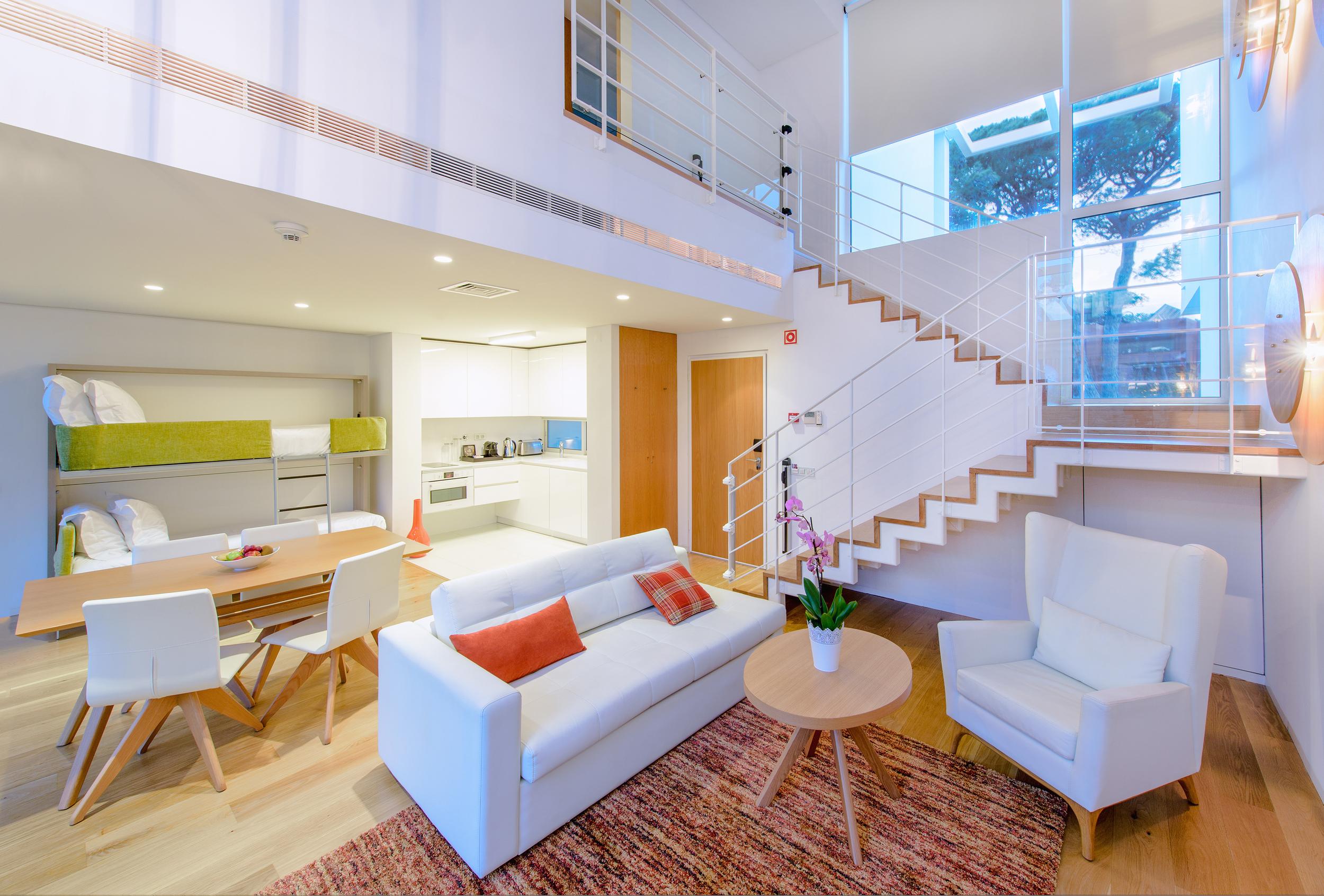 Livingroom at Villa at Martinhal Cascais