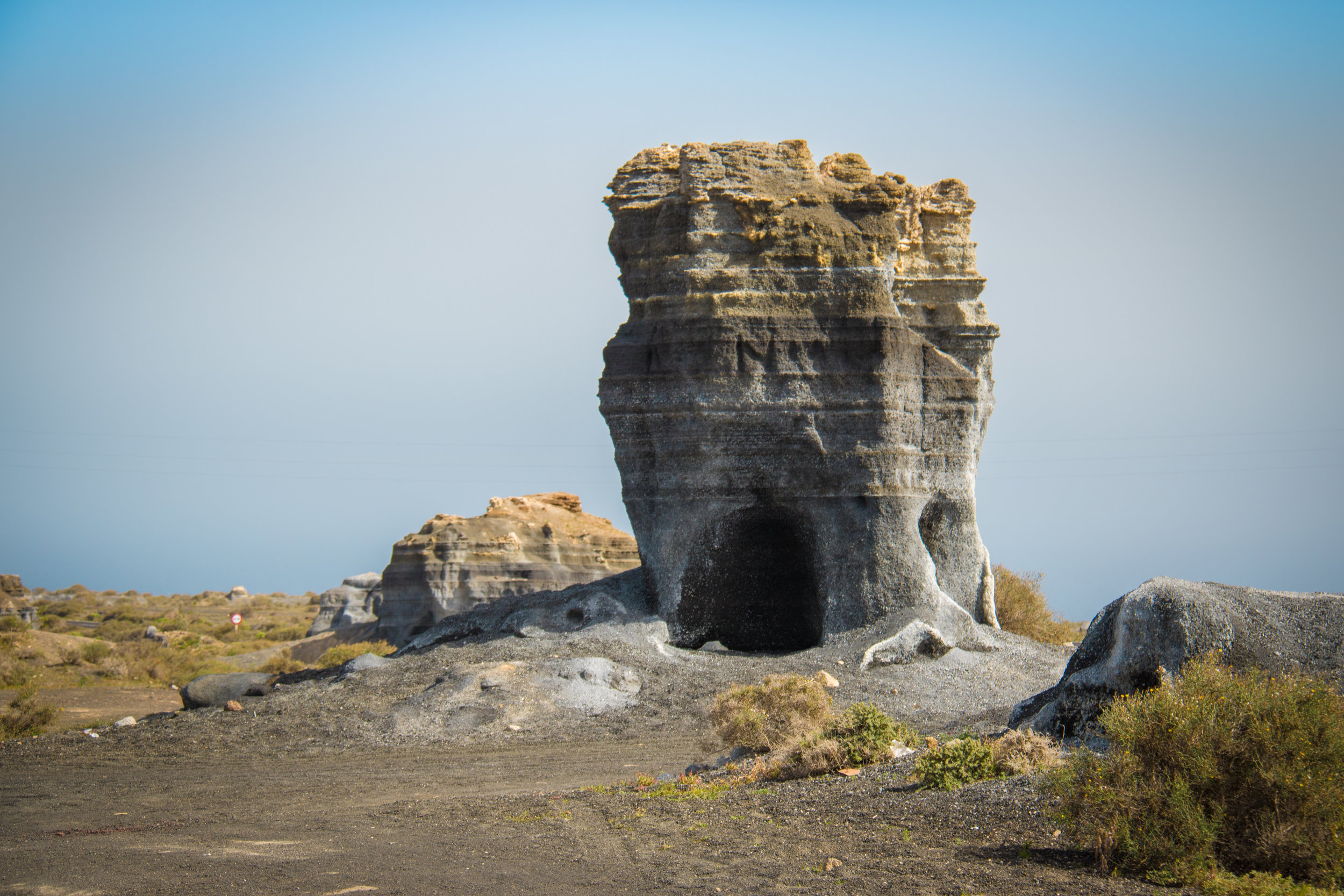 Just love these kind of volcanic sculptures right next to the road