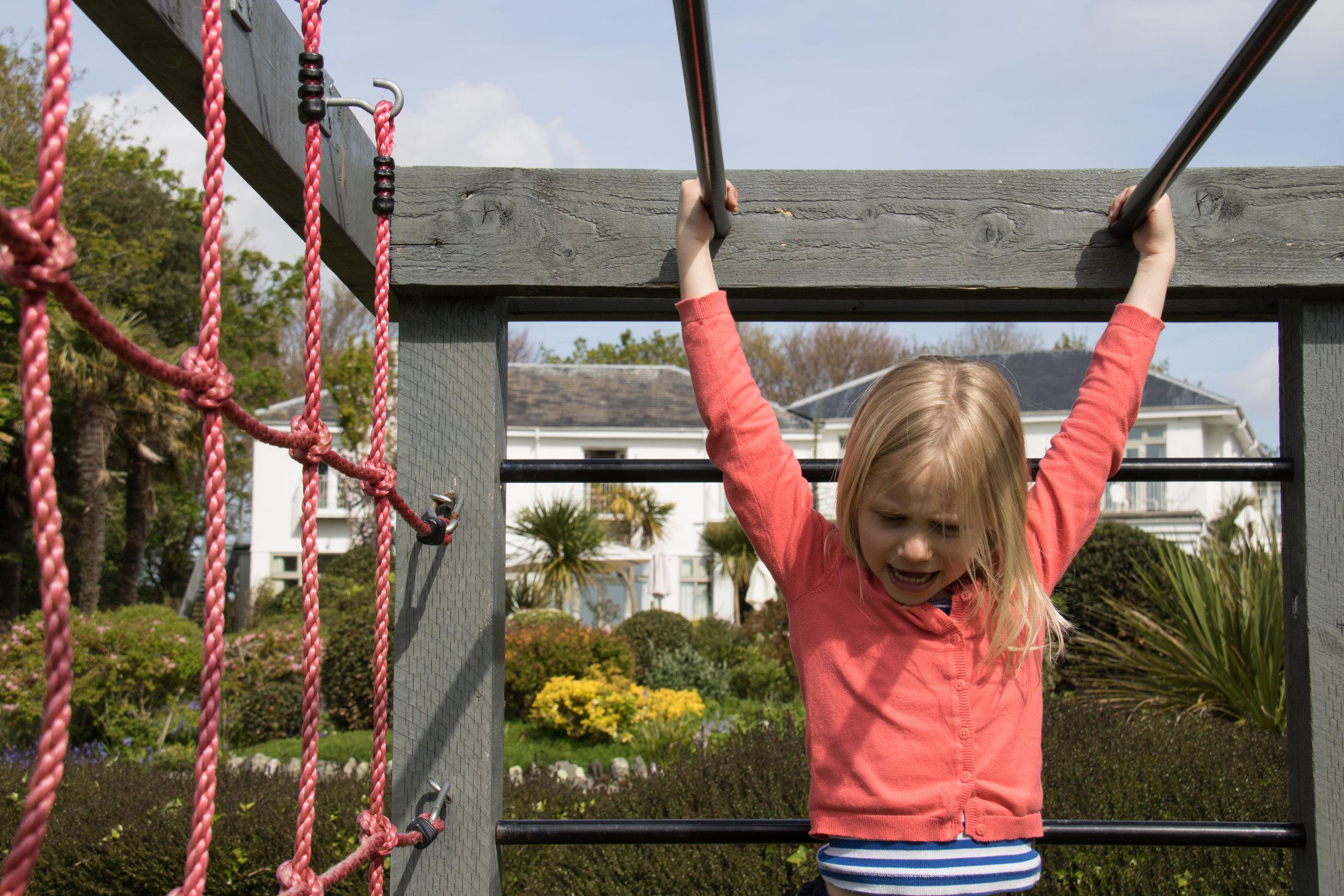 Hanging around in the garden :-)