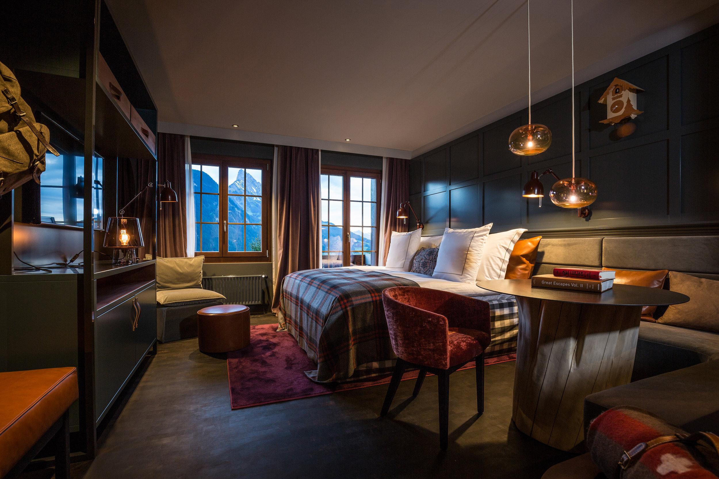 HUUS HOTEL, SWITZERLAND