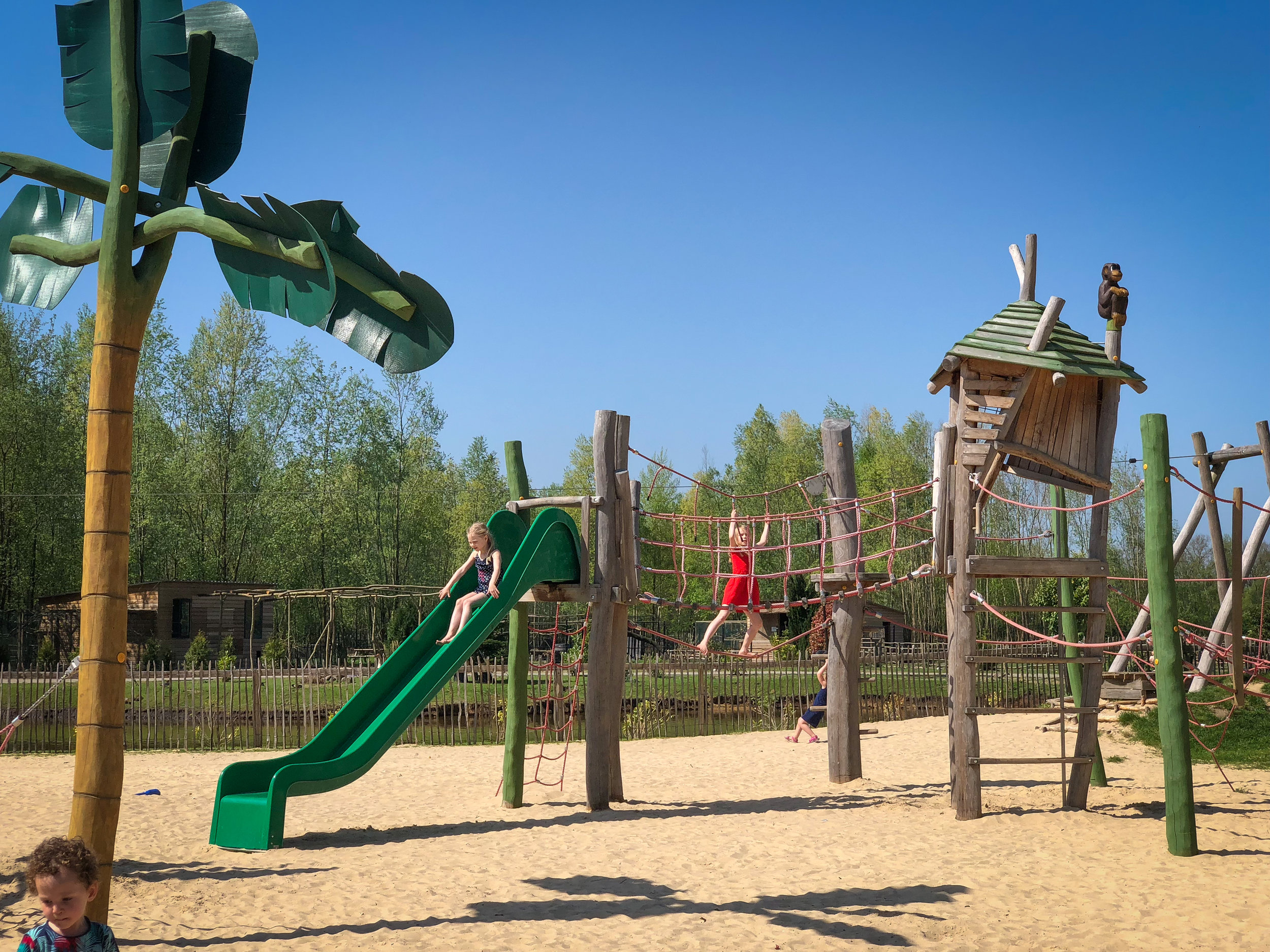 """Playground at """"The Hulsbeek"""" easy to reach by bike"""