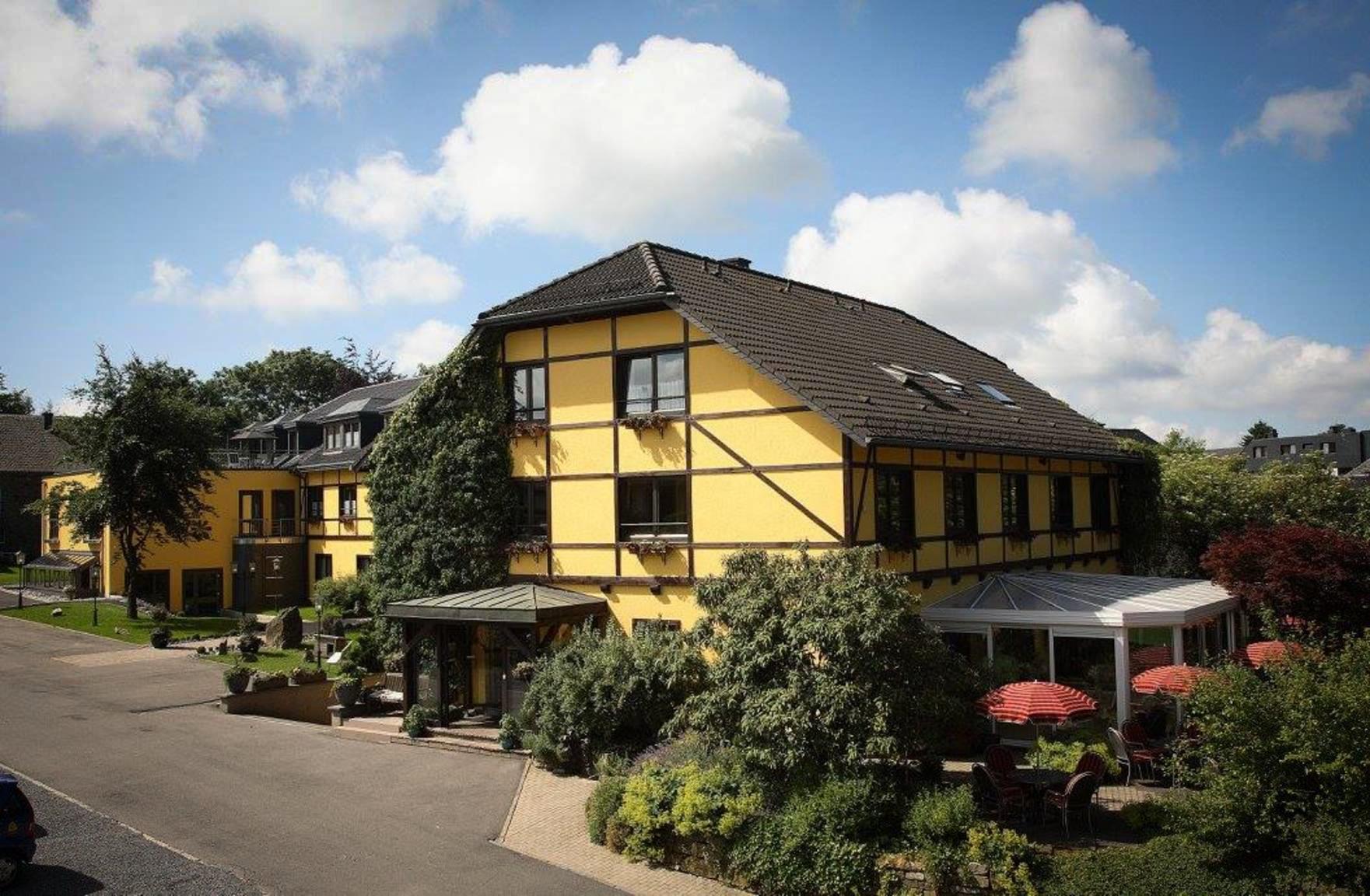 The typical exterior of Bürgenbacher Hof