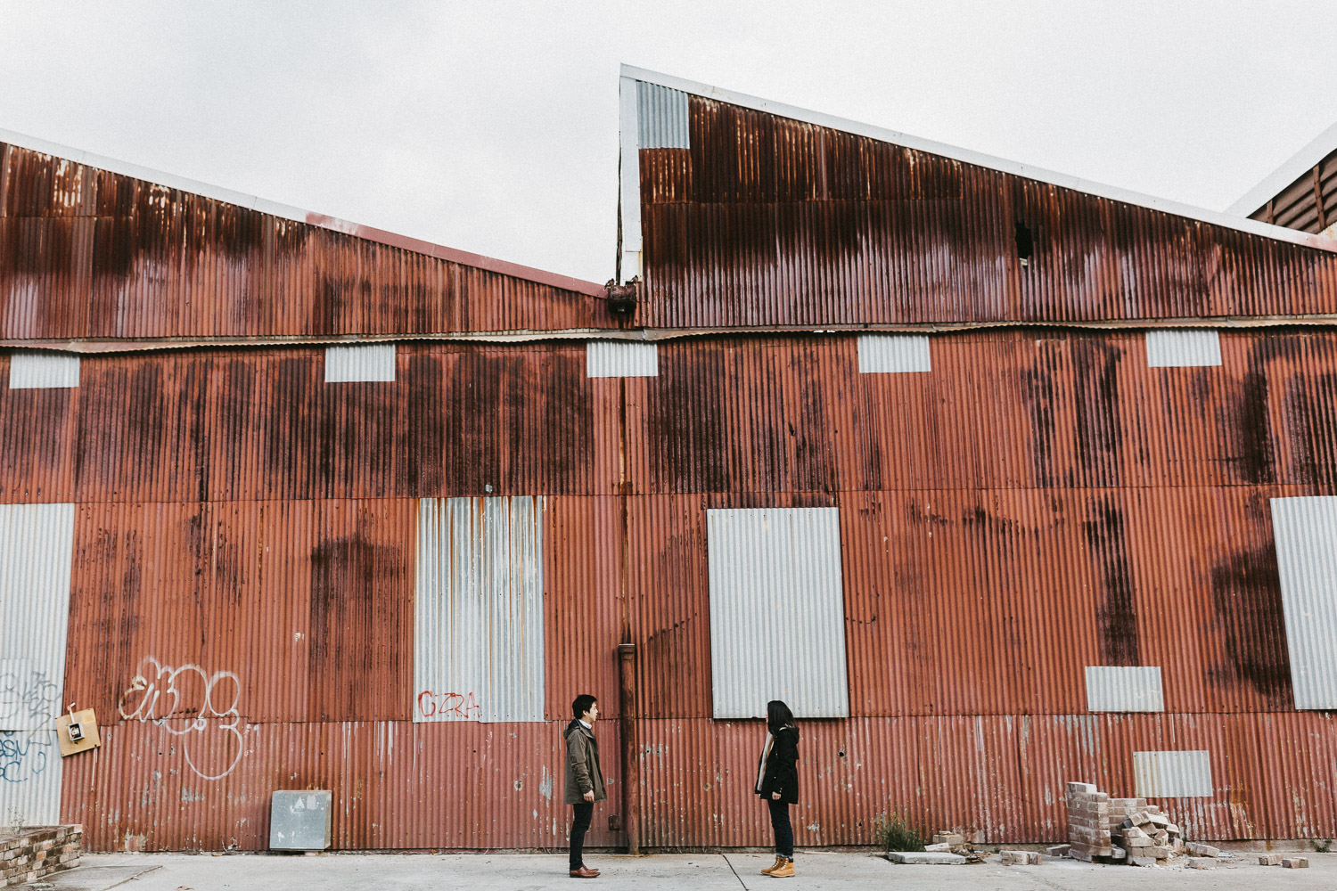 Copy of Carriageworks Redfern Engagement Session | Wazza Studio