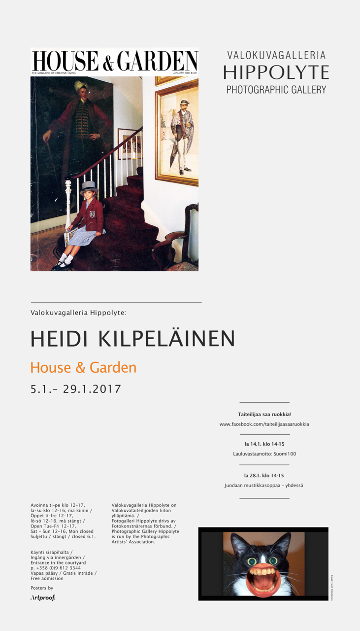 Photographic Gallery H  ippolyte    Helsingin Sanomat Recommends / Toimittaja Suosittelee  21.1.17