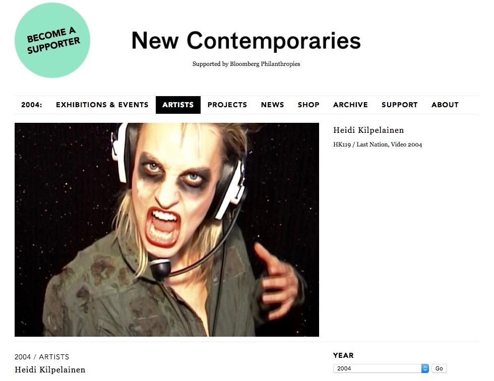 New Contemporaries / Heidi Kilpelainen