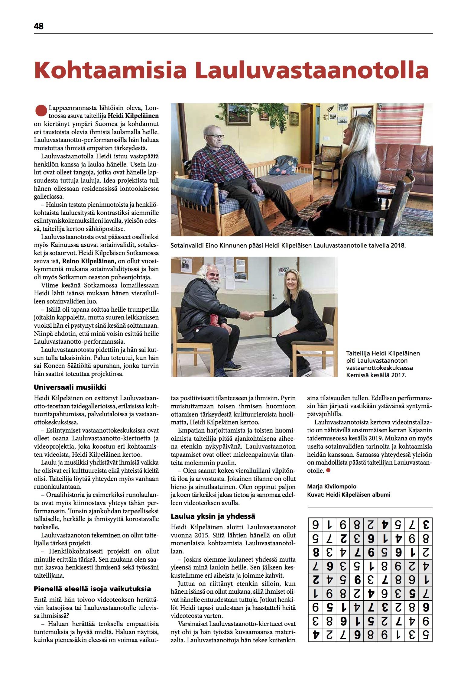 Sotainvalidien Veljesliitto / Sotainvalidi-lehti