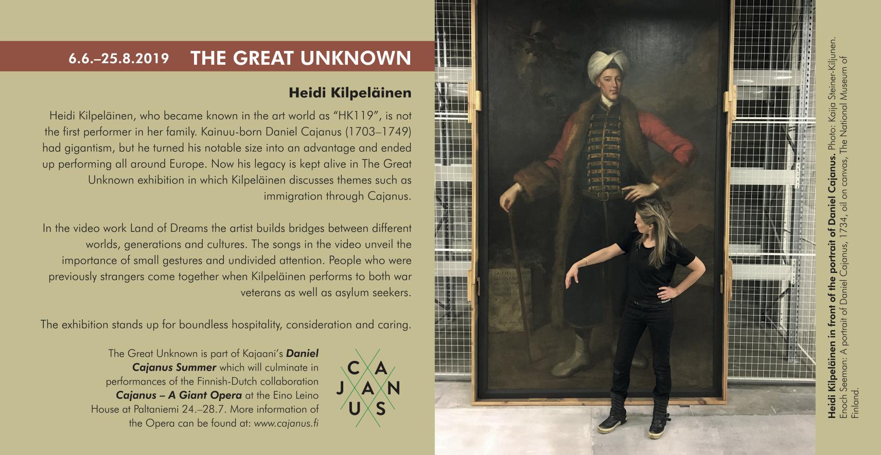 The Great Unknown, Kajaani Art Museum