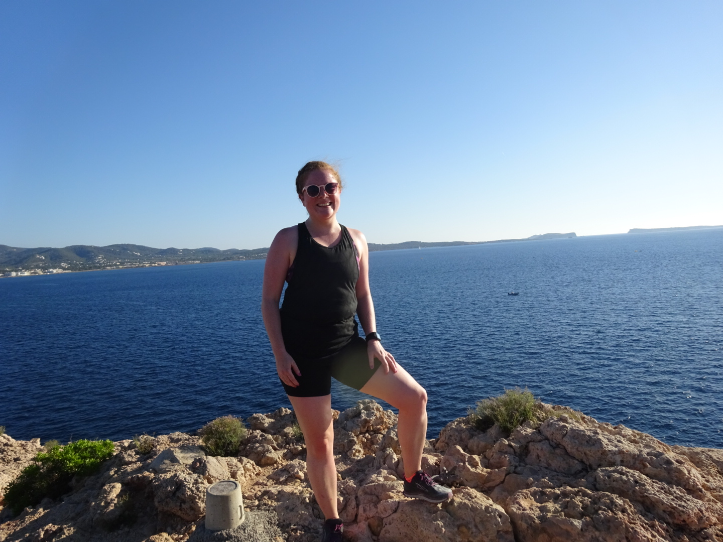 Running in Ibiza, A Pretty Place to Play