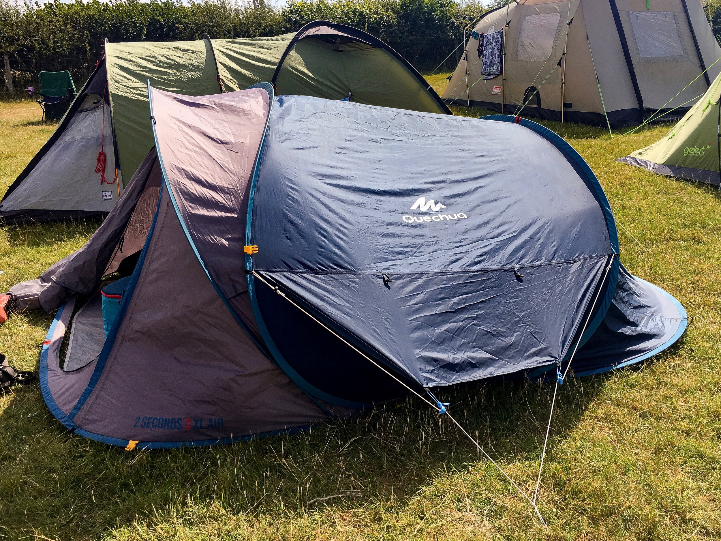 Festival Camping Gear with Quechua - A Pretty Place To Play