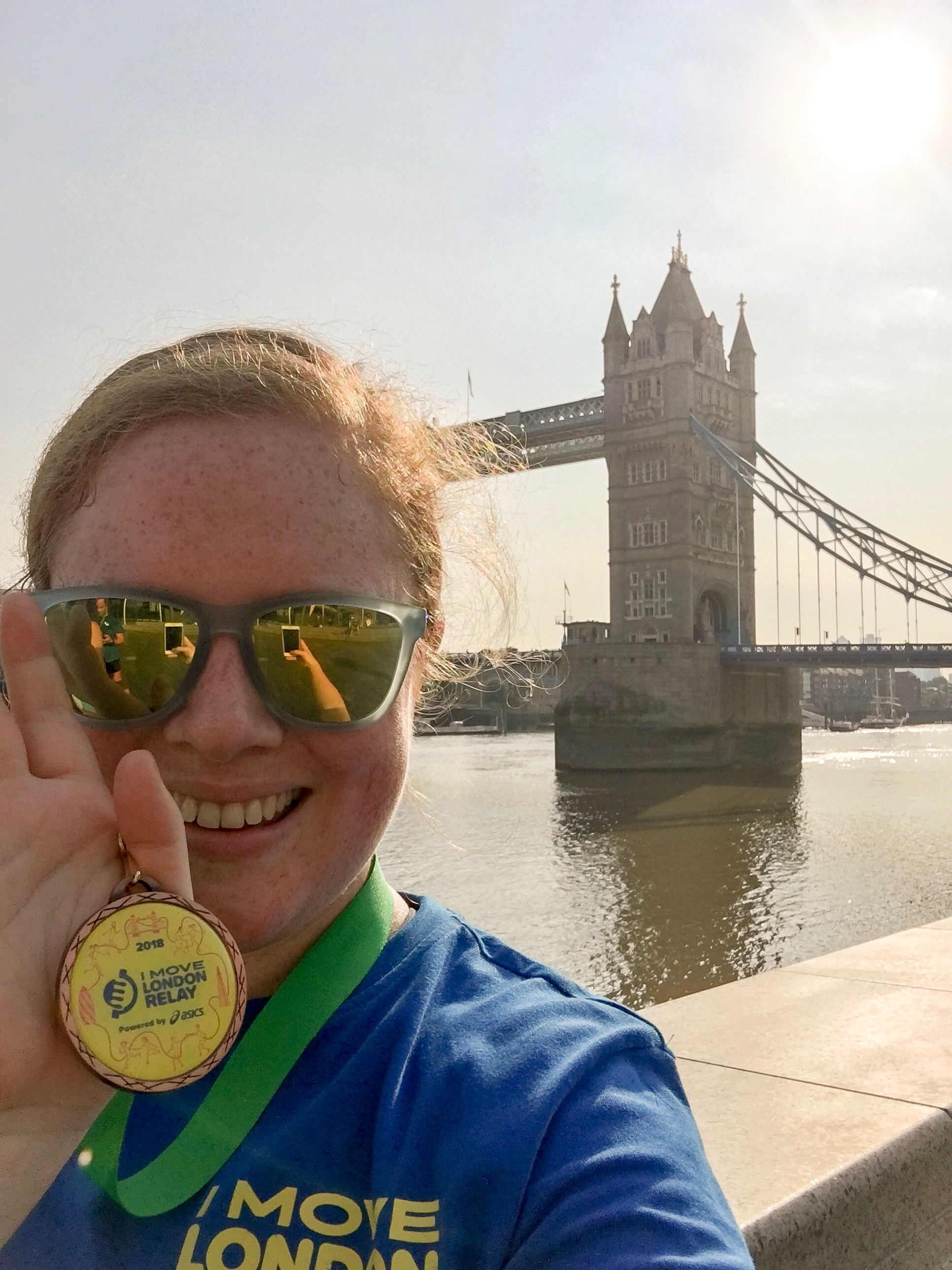I Move London Relay - A Pretty Place To Play