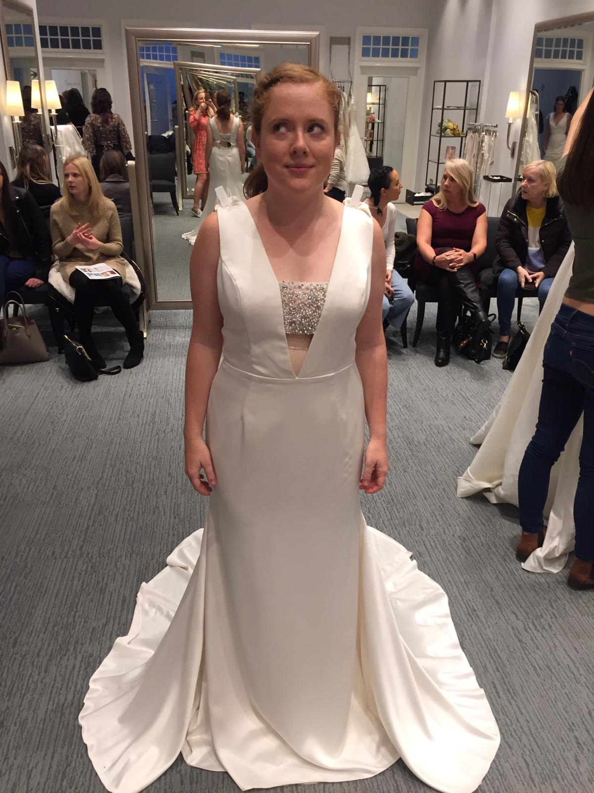 Buying My Wedding Dress At David's Bridal - A Pretty Place to Play, London Running and Fitness Blog