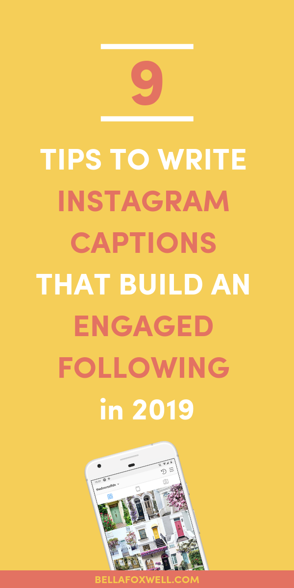 How to write Instagram captions that sell in 2019