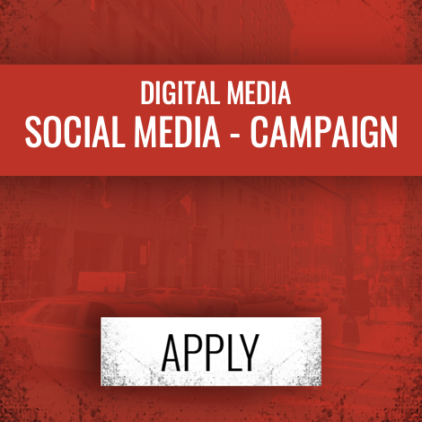 ENTRY FEE: $225   Social Campaign, Social Ad Campaign, Social Engagement, Social Branding Campaign, Influencer Content, Viral Marketing Campaign