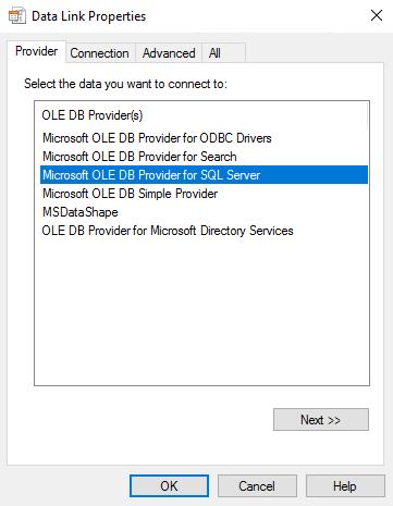 Sql Server Verbindung Schnell Testen Escde Gmbh