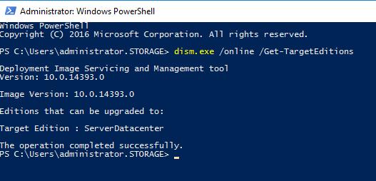Windows Server 2016 in Windows Server 2016 Datacenter umwandelnBild03.png