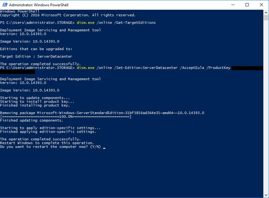Windows Server 2016 in Windows Server 2016 Datacenter umwandelnBild04.png