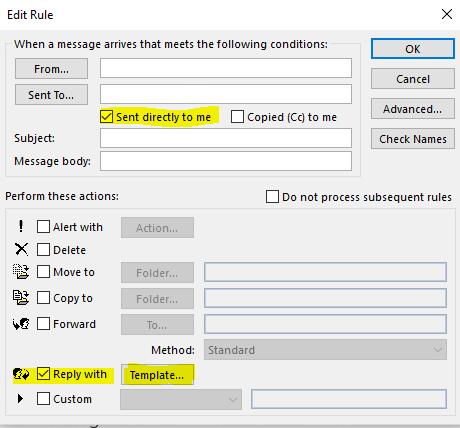 Einstellungen automatische ihre nicht angezeigt können outlook antworten für Outlook: Abwesenheitsnotiz