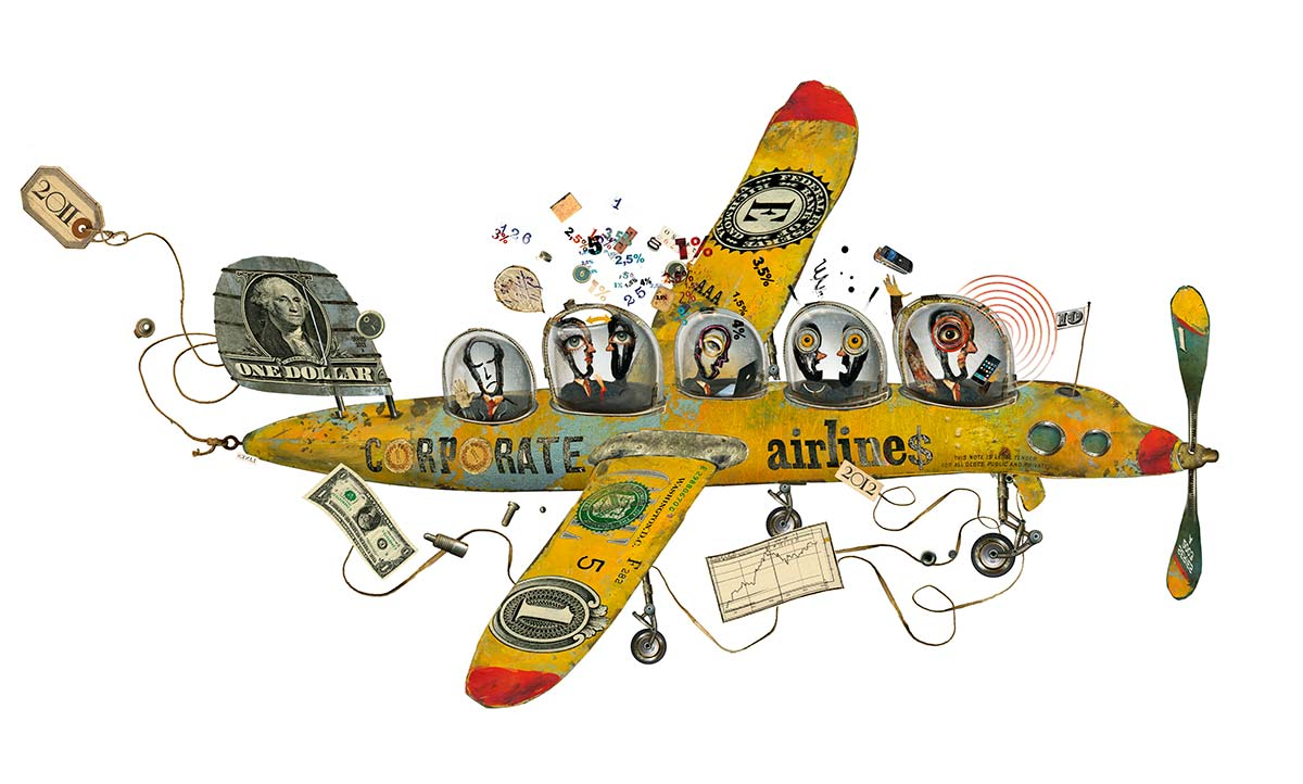 Illustration for the Wall Street Journal