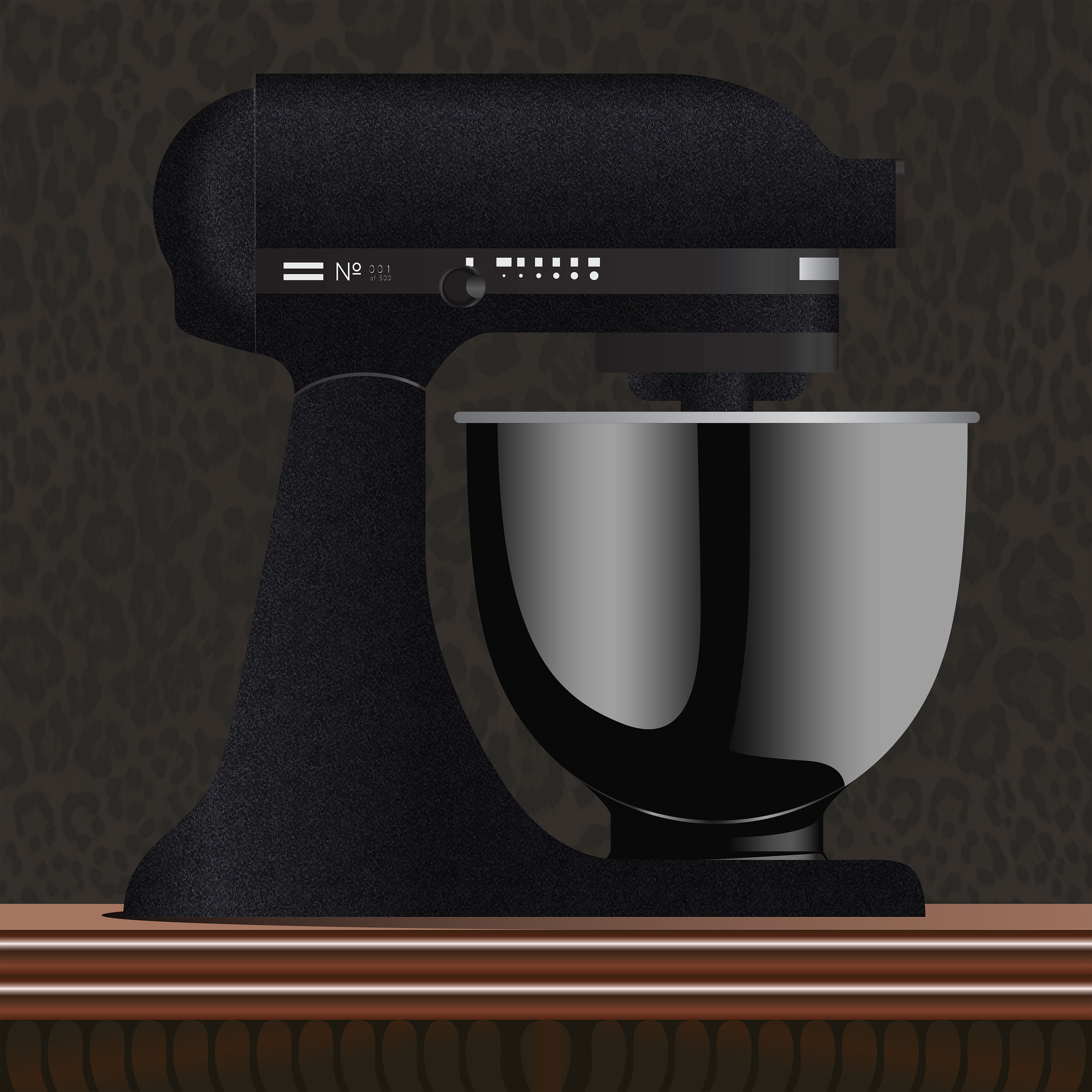 KitchenAid® Artisan® Black Tie Limited Edition Stand Mixer