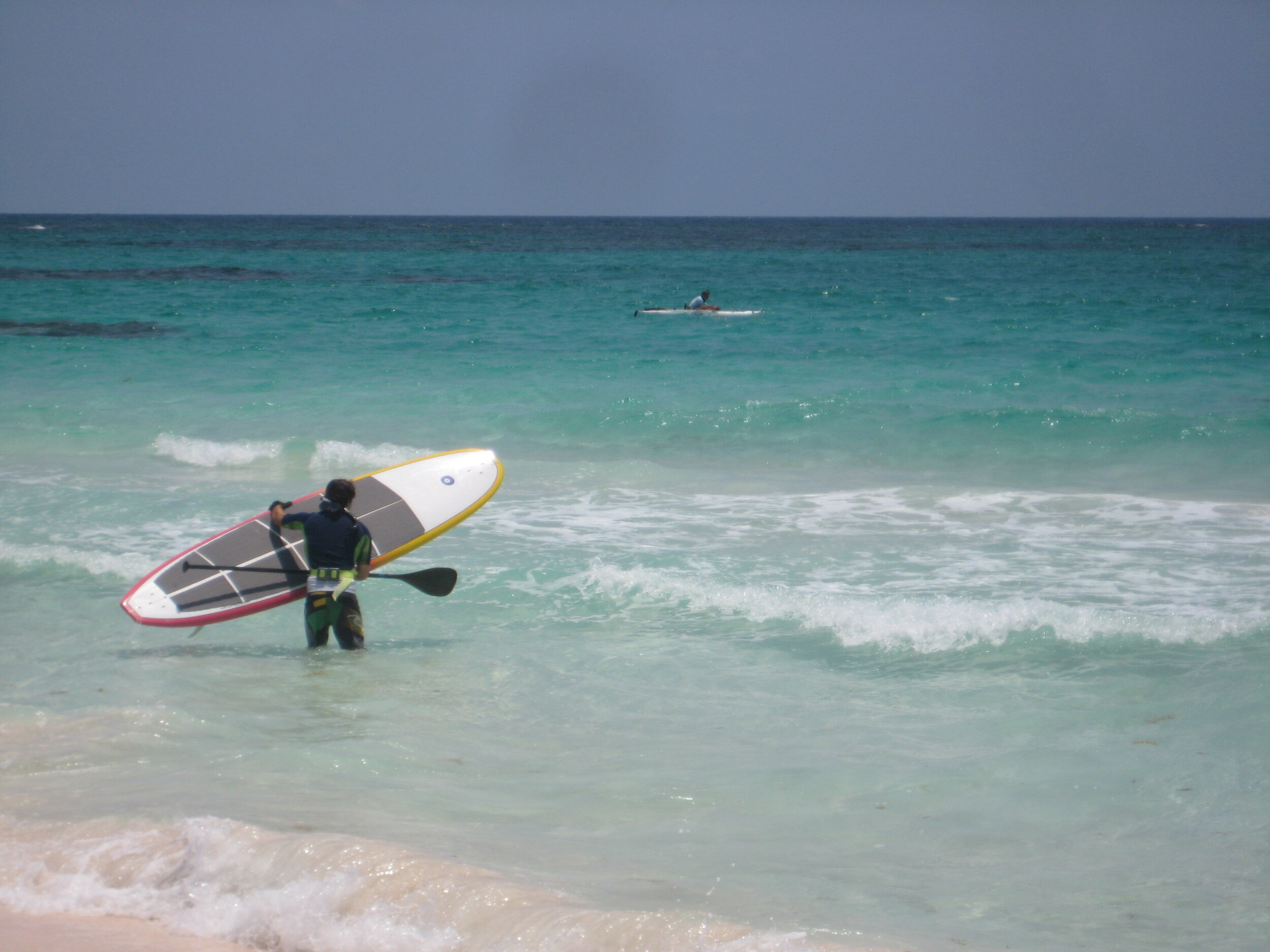 Paddleboarding! - Get your core workout!