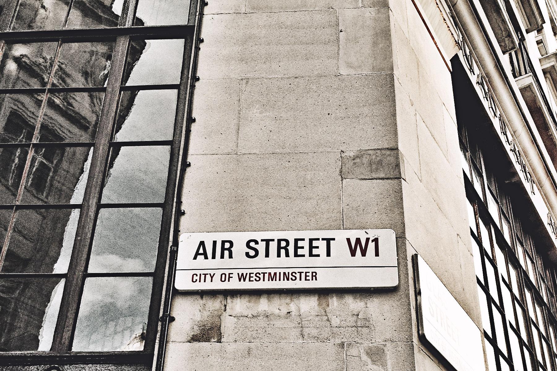 Air Street W1, London, UK