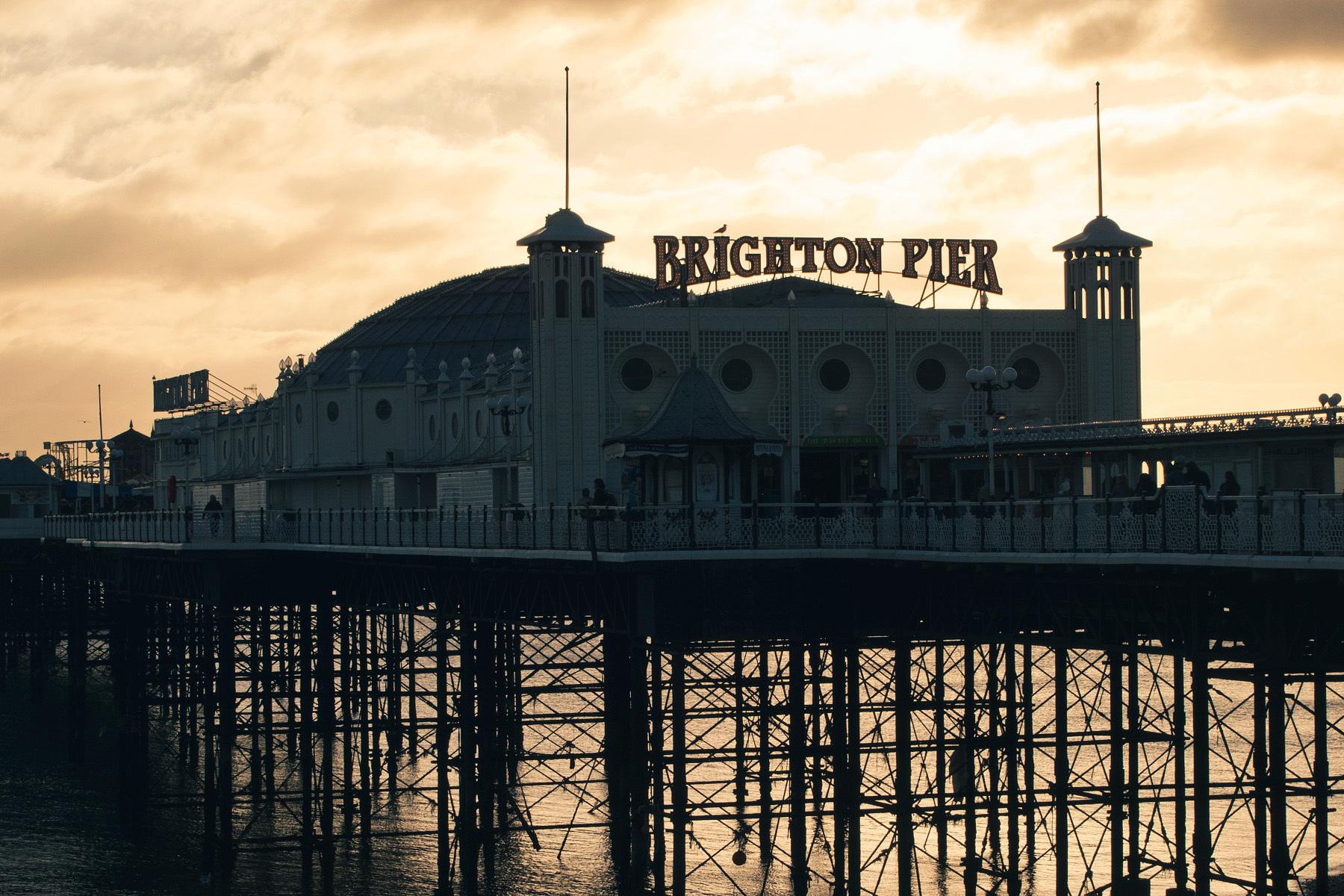Brighton Pier, Brighton, East Sussex, England