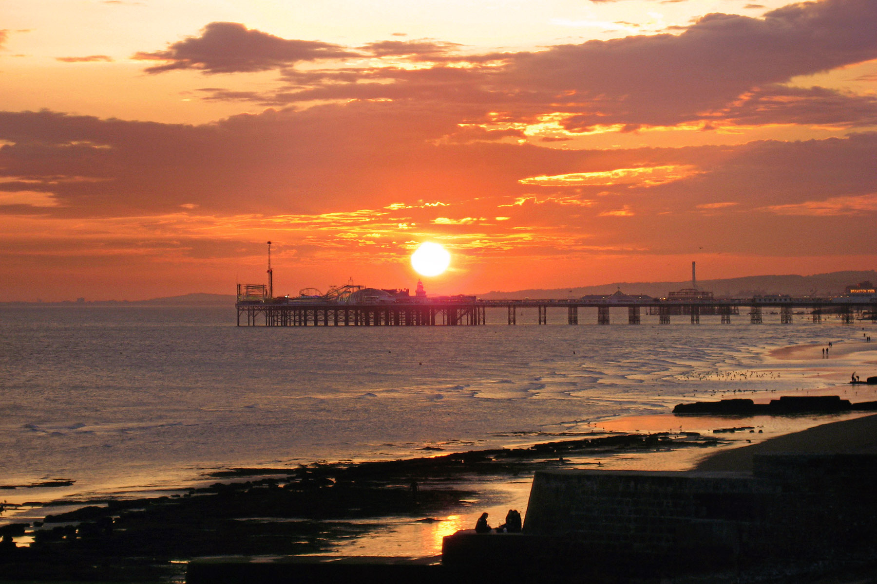 Brighton Pier, East Sussex, Brighton, England