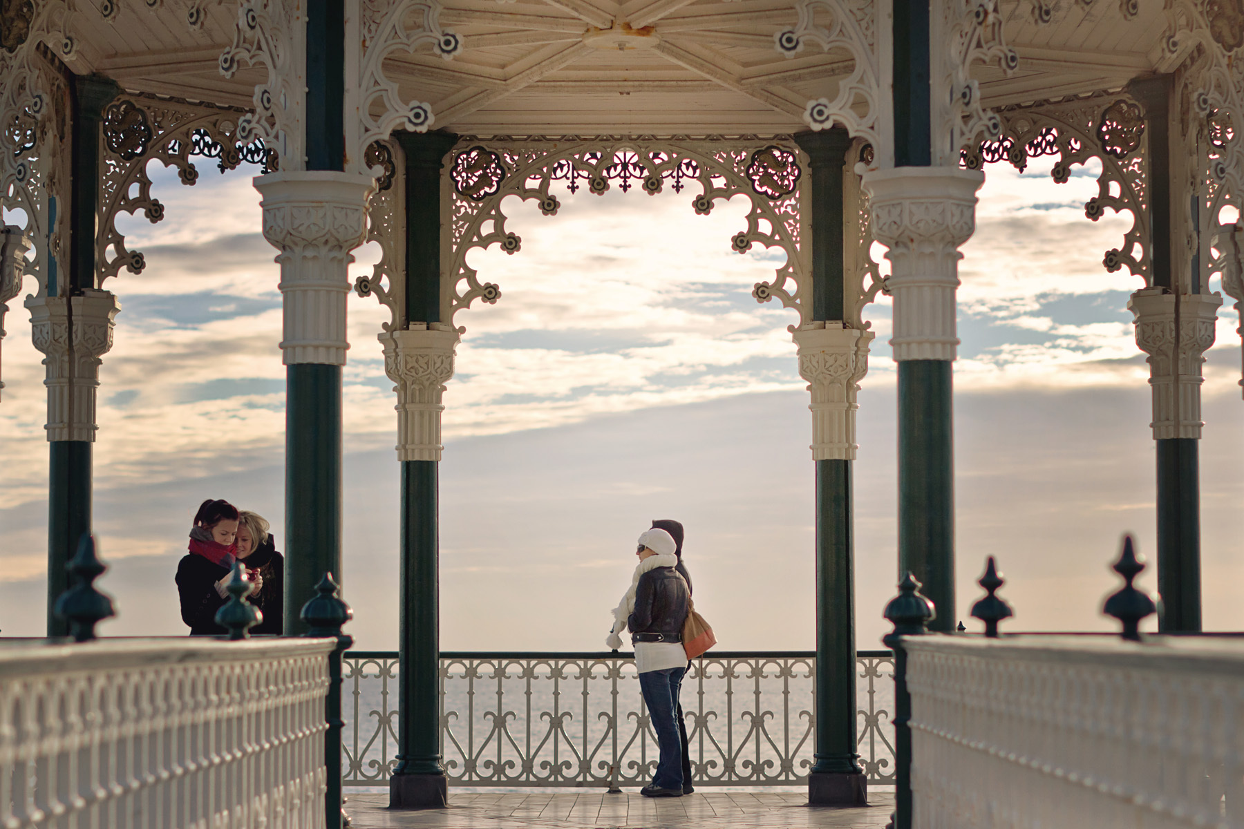Bandstand, Brighton, East Sussex, England
