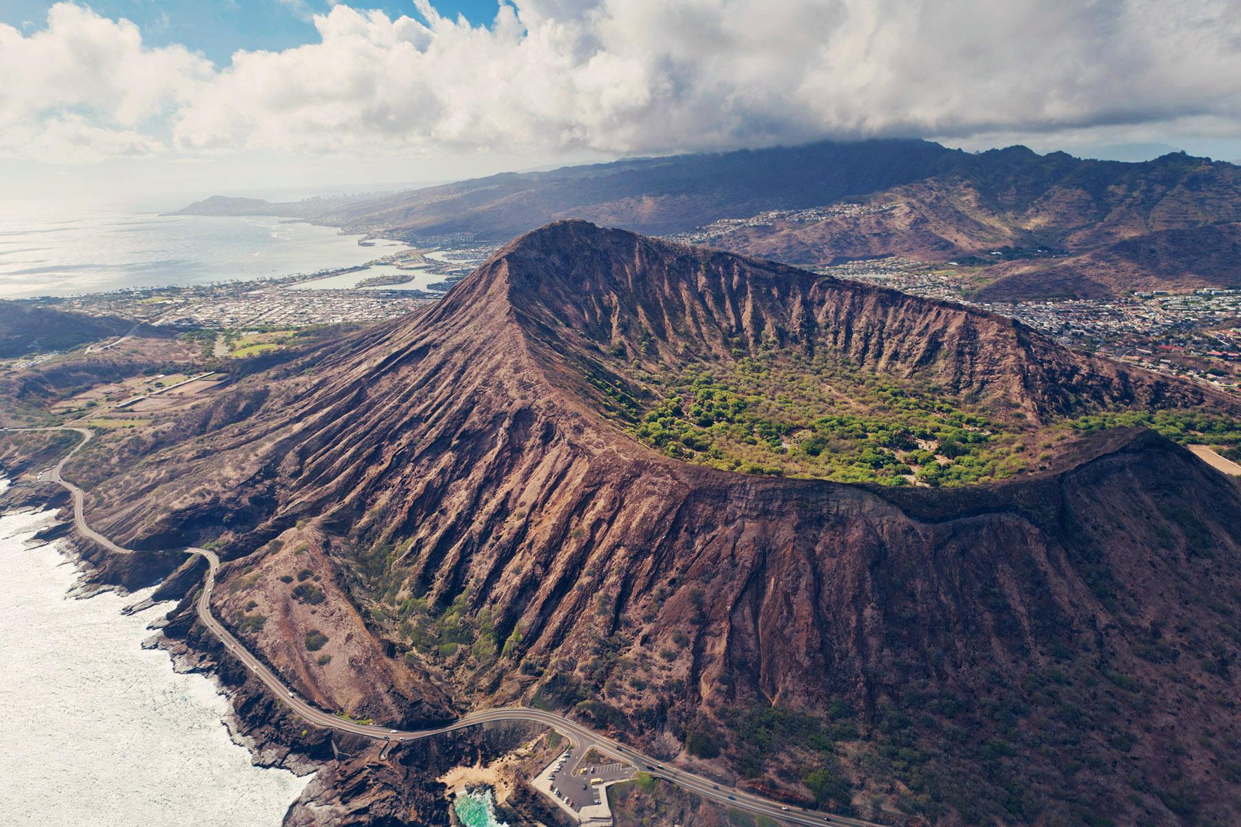 Diamond Head, Oahu, Hawaii, USA