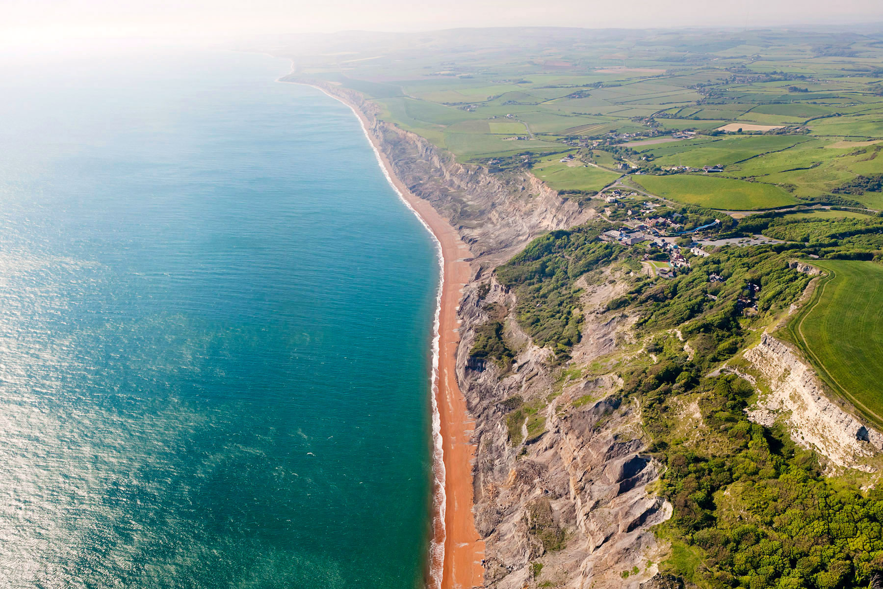 Beach from Above, East Sussex, United Kingdom