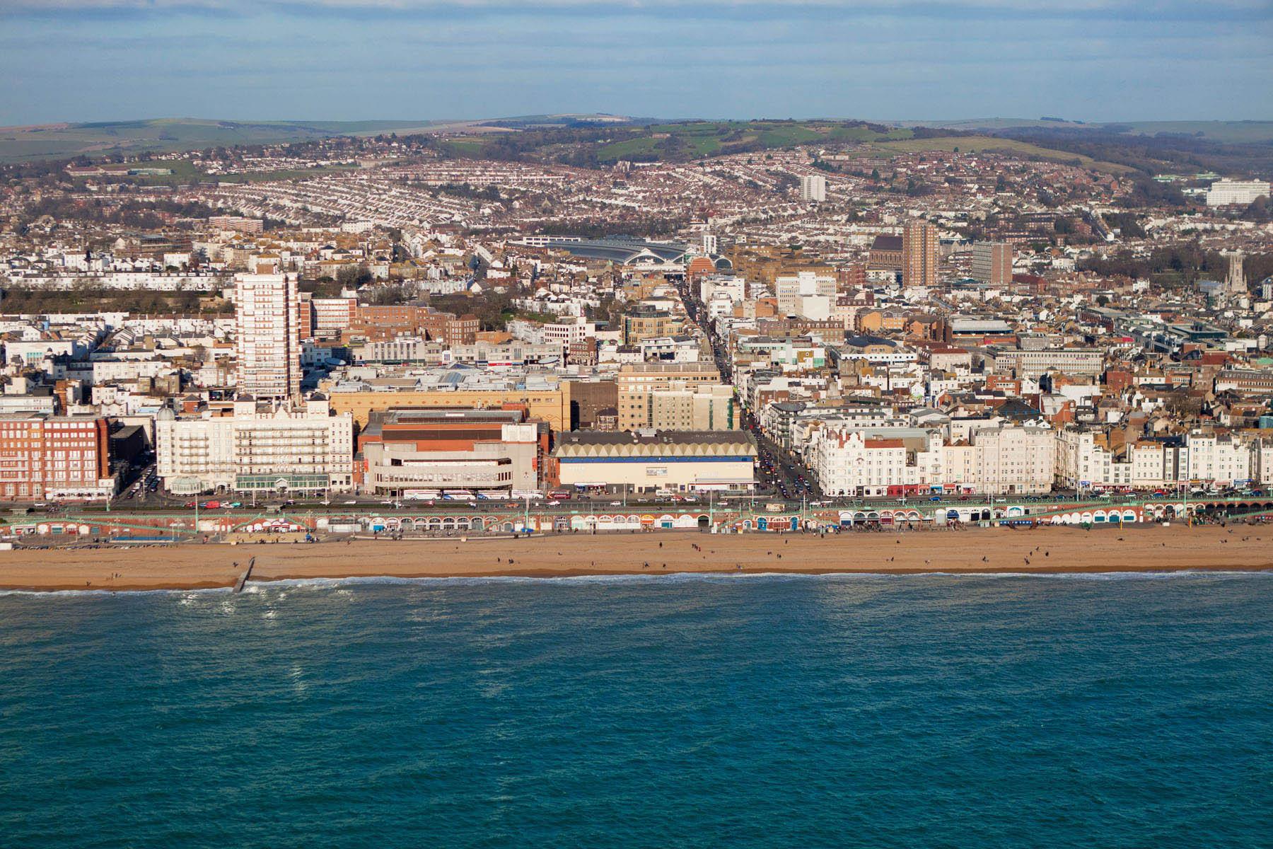 Brighton Coast, East Sussex, England