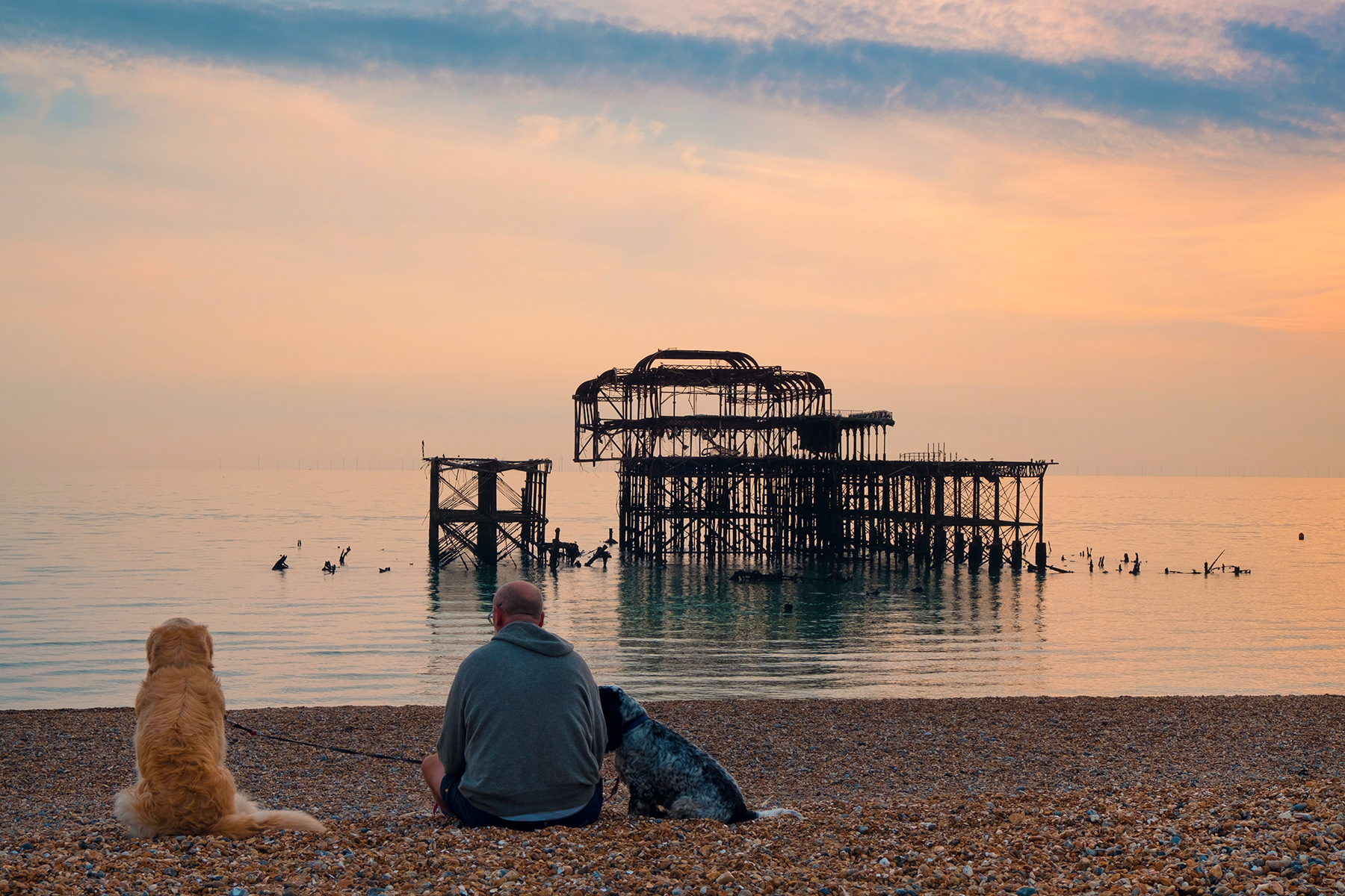 West Pier, Brighton, East Sussex