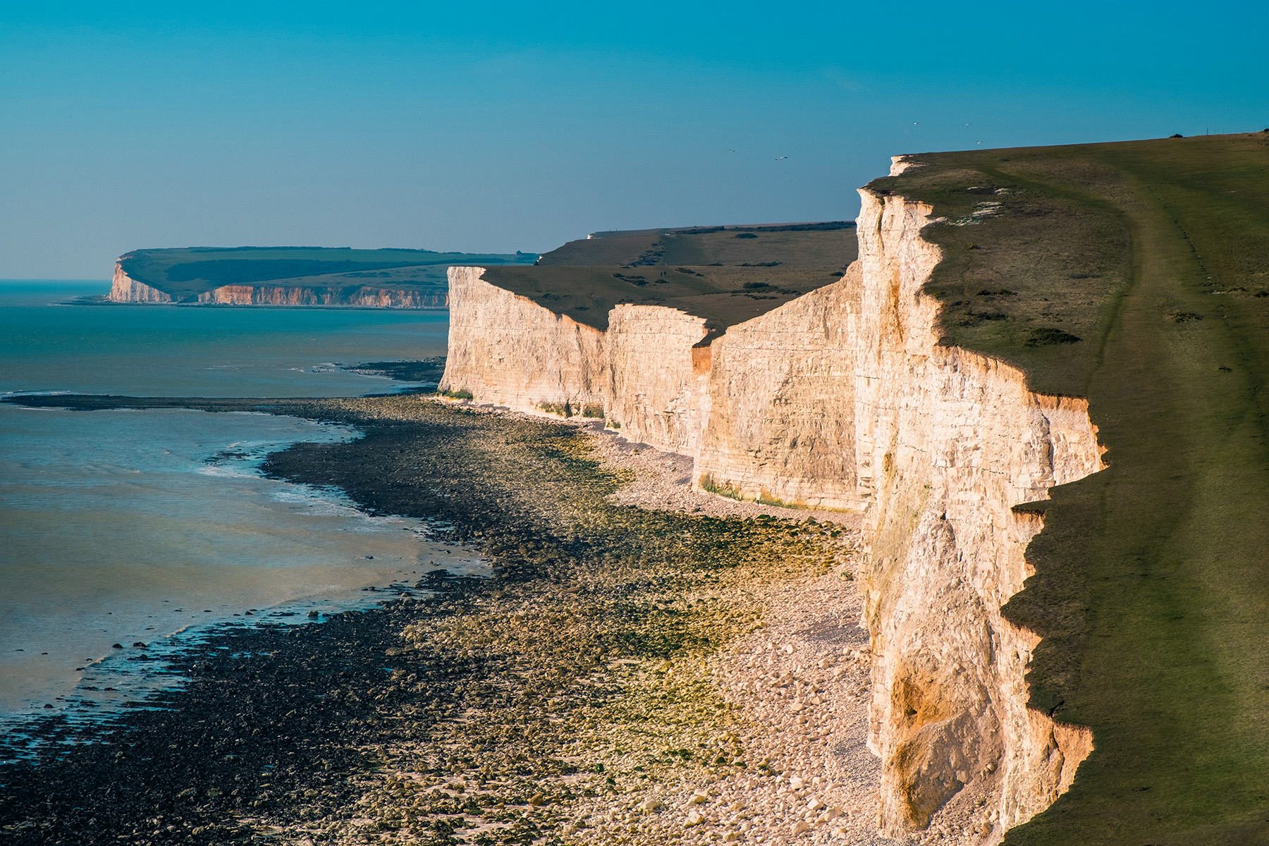 Seven Sisters cliffs, Seaford, East Sussex