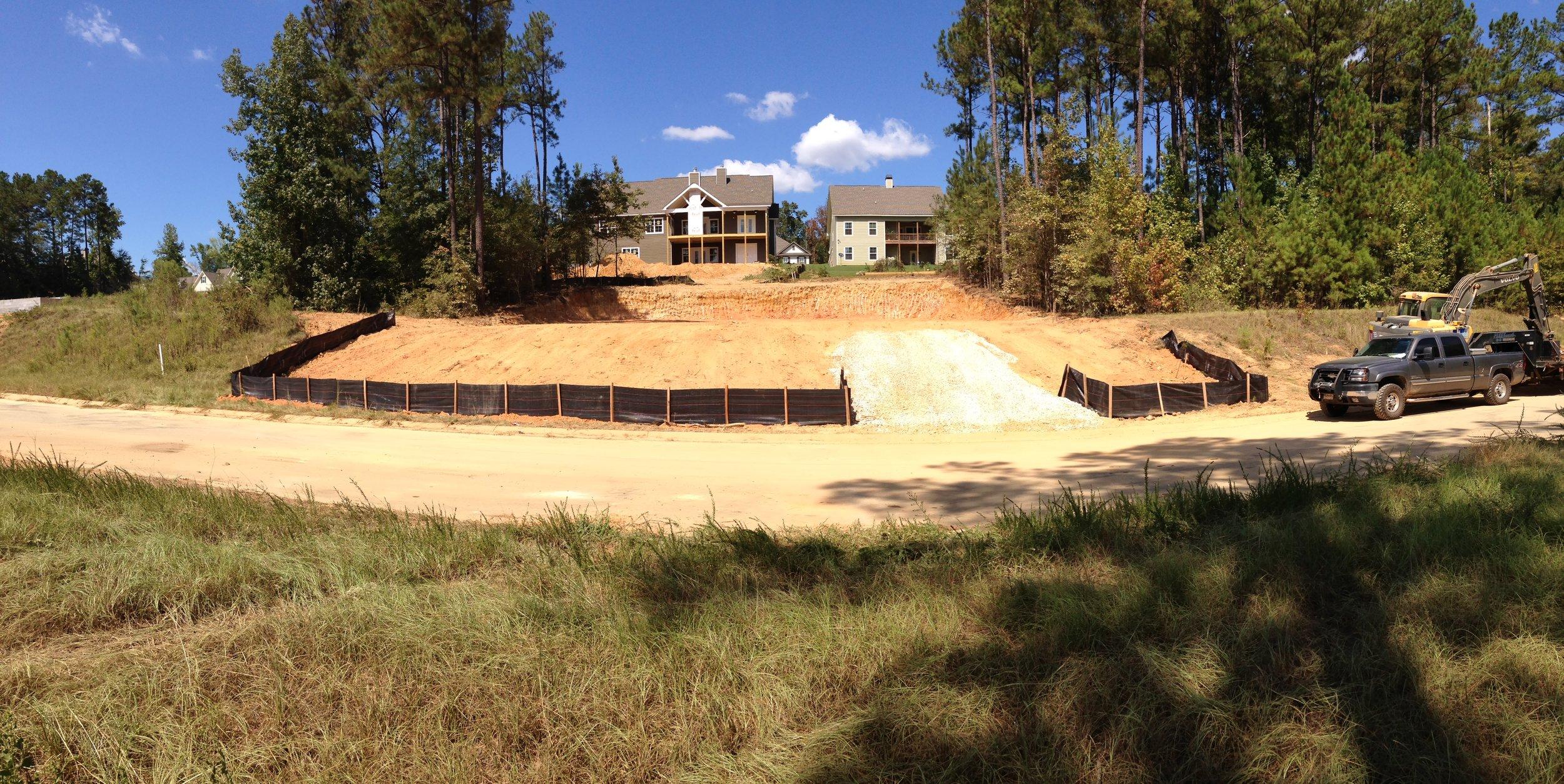 Silt Fence/ Erosion Control -