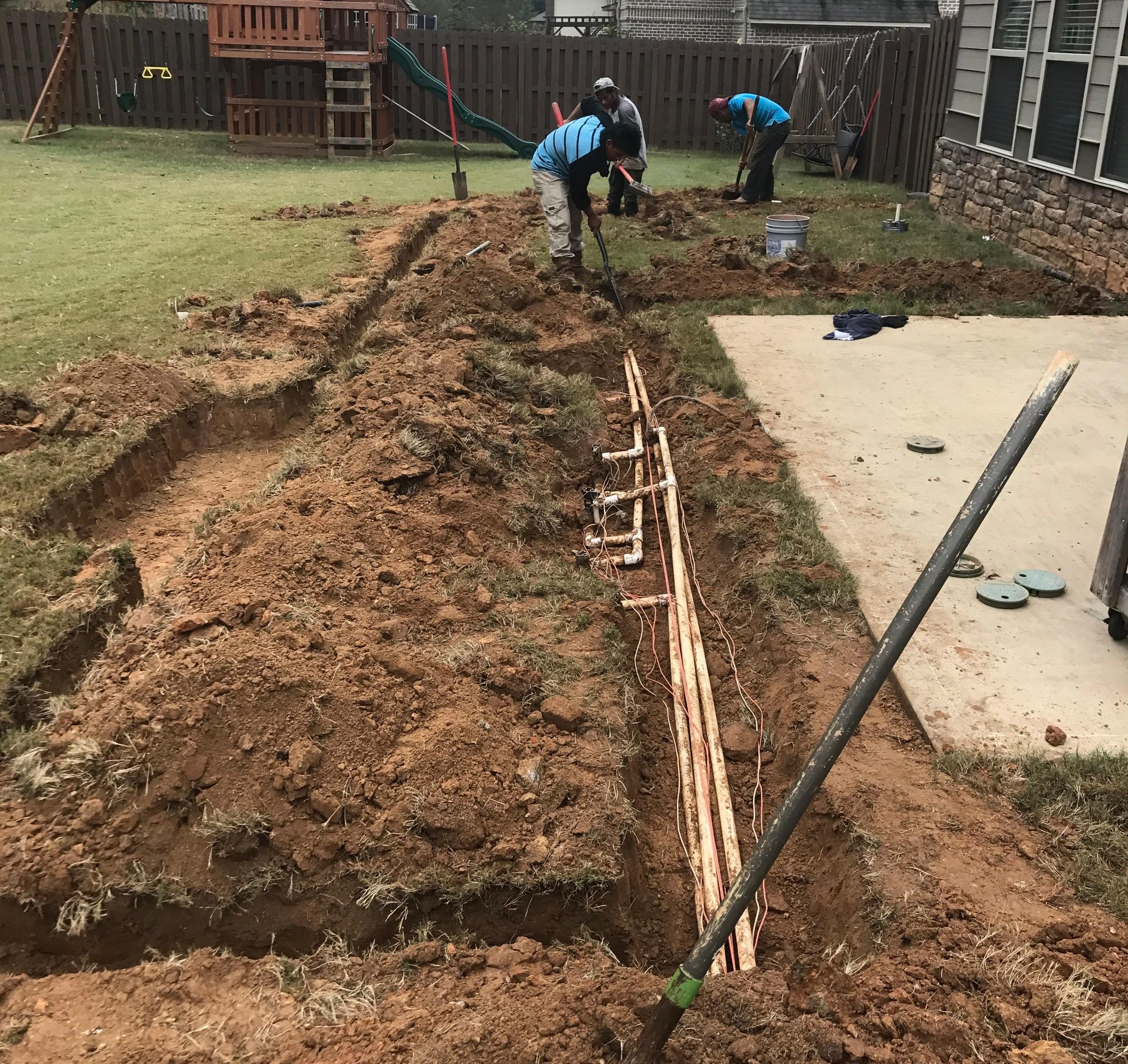 Irrigation System Repair -