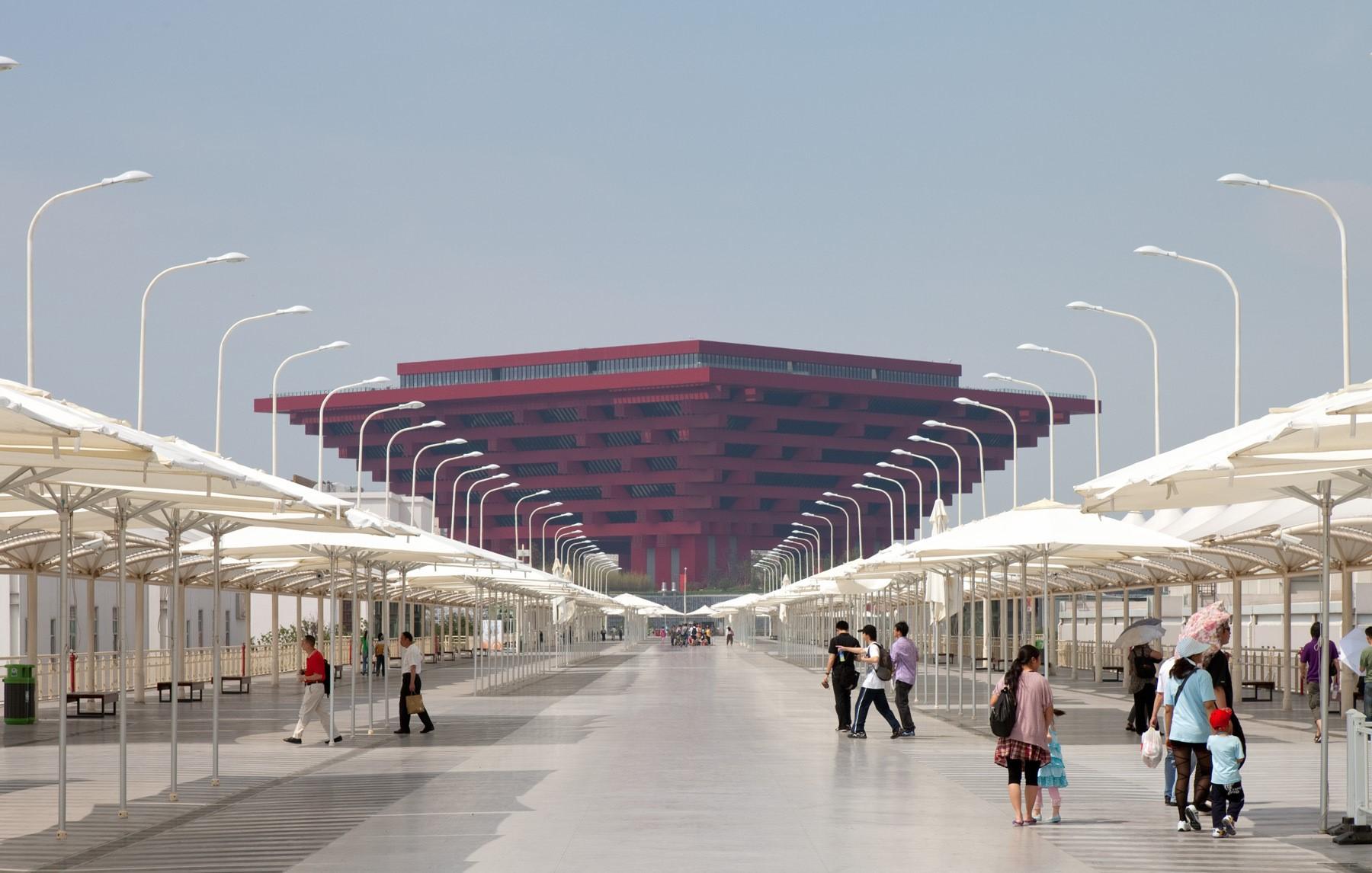 China pavilion, Shanghai Expo, 2010