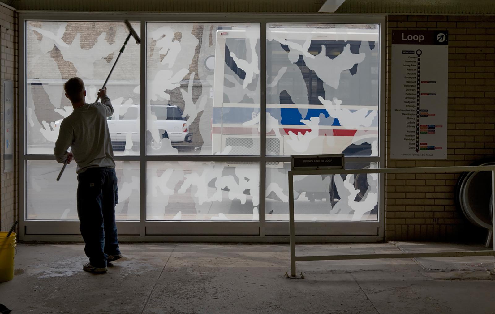 Shadow Screens: interior view 2007, Photo: M. Litvin