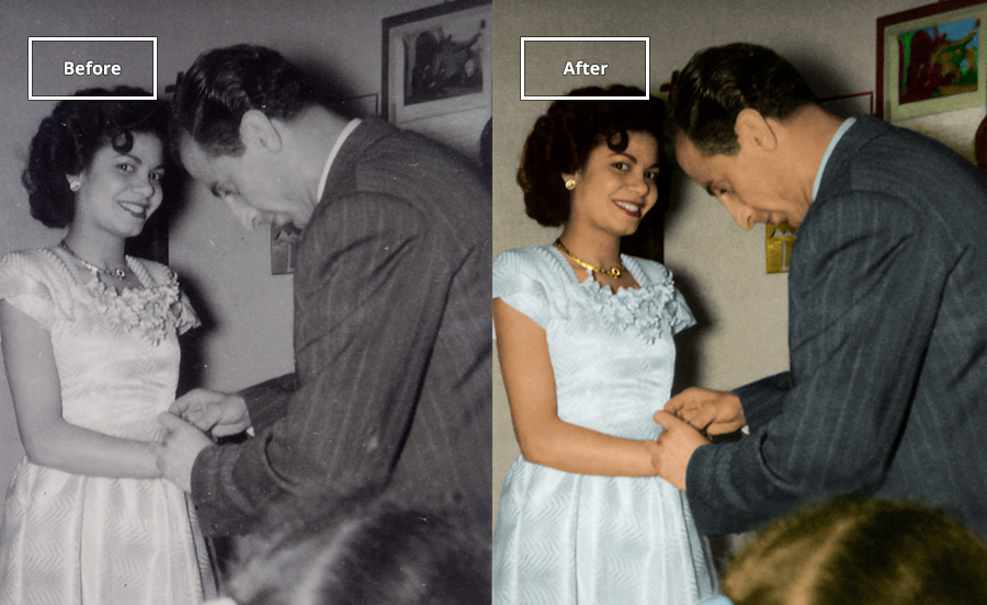 Colorize -Add color and life to black and white images.