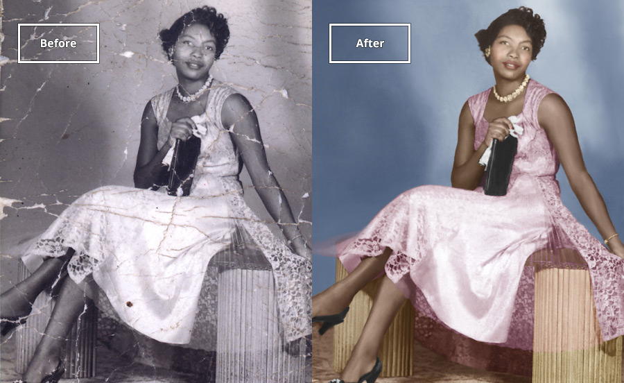 Scratches, Folds, Dust  - Restore any well-loved image back to its original glory.